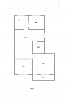 (钢山街道)峄化小区3室1厅1卫45万80m²出卖