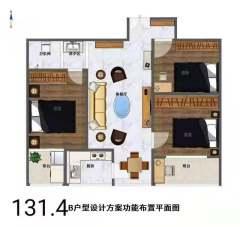 (钢山街道)程兰故里3室1厅2卫60万130m²出卖