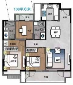 (钢山街道)万豪悦府3室2厅1卫70万99m²出卖